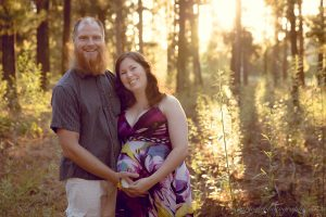 Stellenbosch Forest Sunset Maternity Session