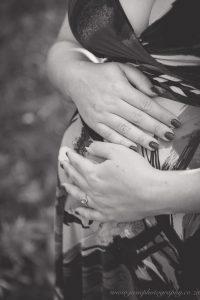 Stellenbosch Forest Sunset Maternity Session